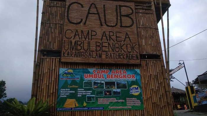 CAUB (Camp Area Umbul Bengkok)