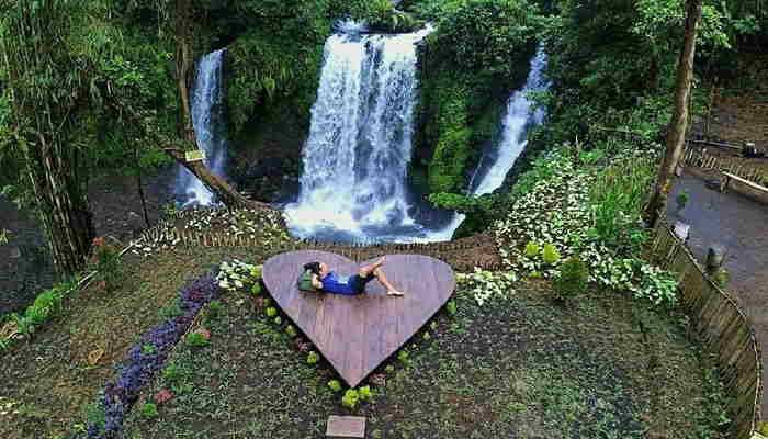 Tempat wisata di purwokerto curug jenggala